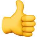 Thumbs Up Sign 1f44d